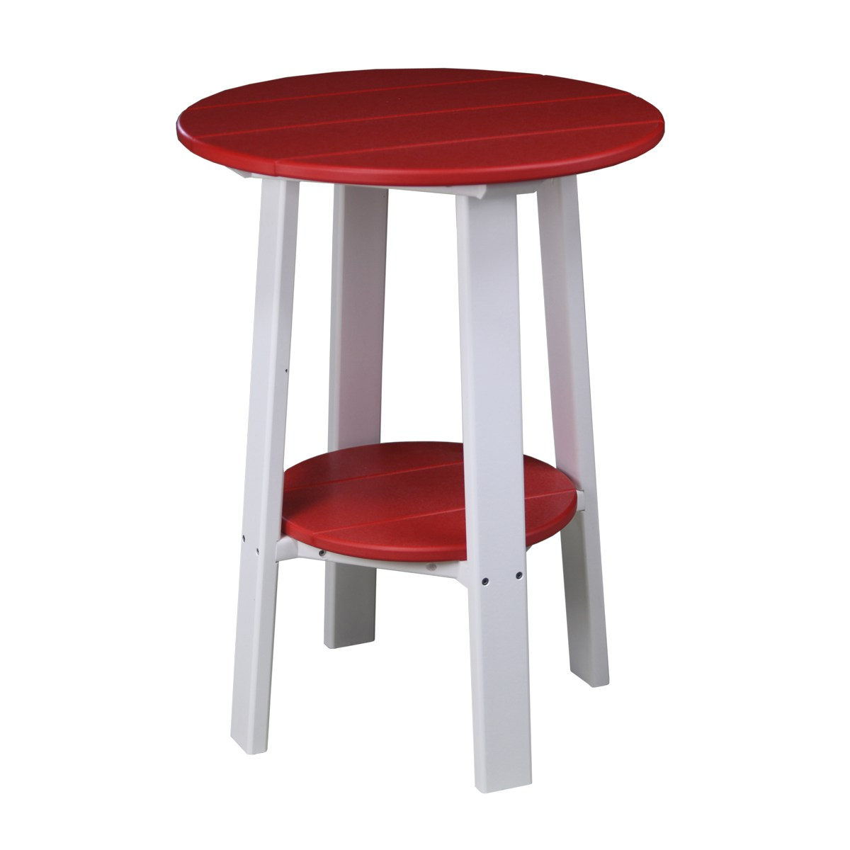 Tall White End Table Tall Deluxe End Table Patio Accessories Side Tables