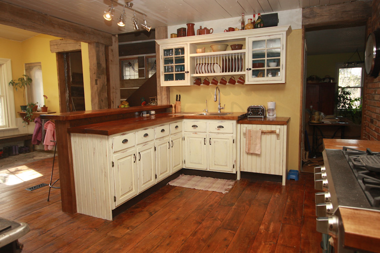 Kitchen Island Using Wall Cabinets Recycledrenovator | Just Another Wordpress.com Site
