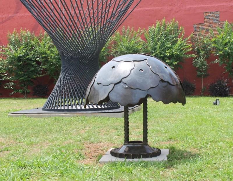 Large Of Metal Yard Art