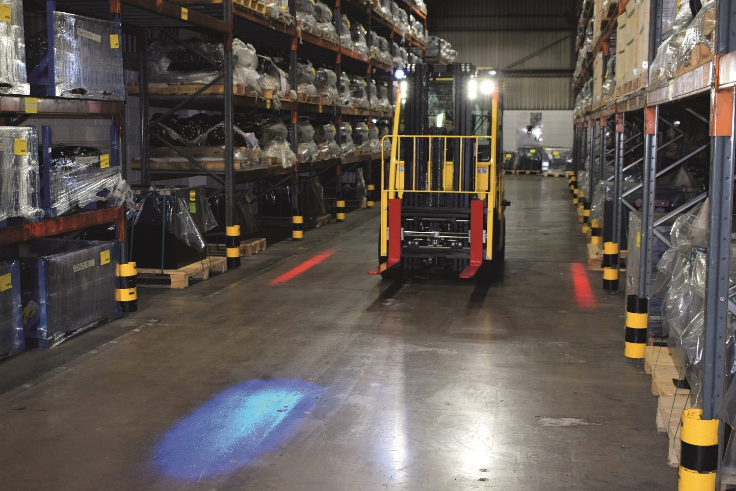 Recycling Bielefeld Hyster Pedestrian Awareness Lights Recycling Magazin