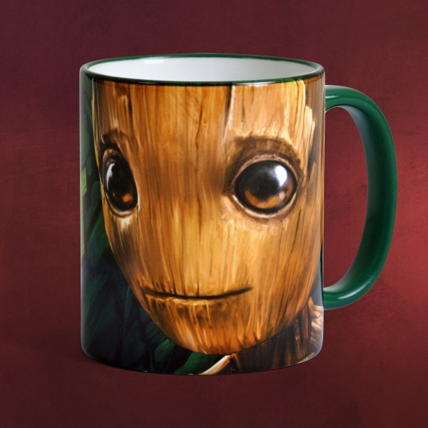 Dragon Bettwäsche Guardians Of The Galaxy - I Am Groot Tasse | Elbenwald