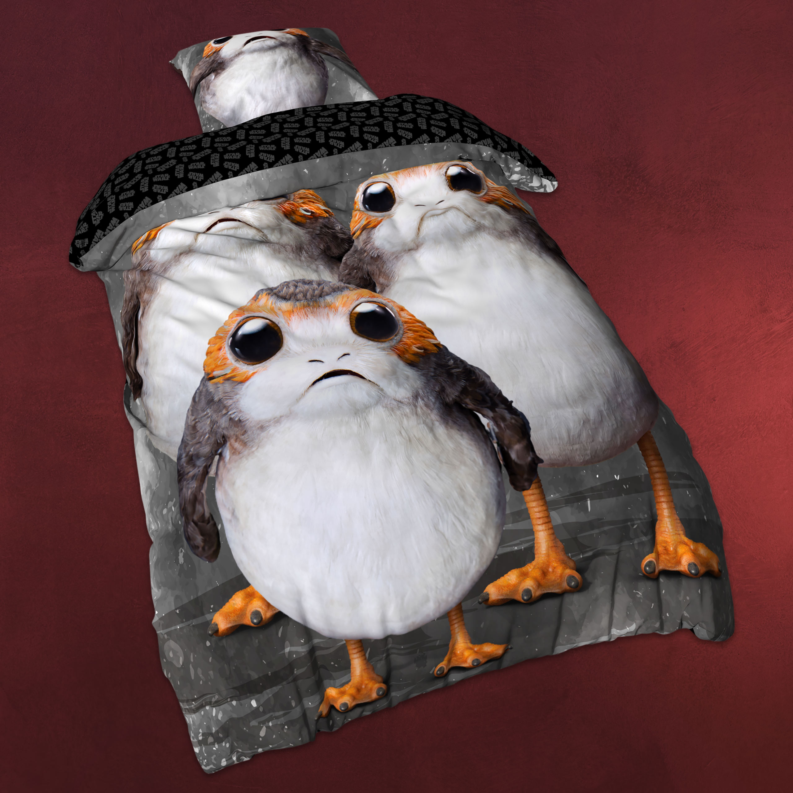 World Of Warcraft Bettwäsche Star Wars Triple Porg Wende Bettwäsche