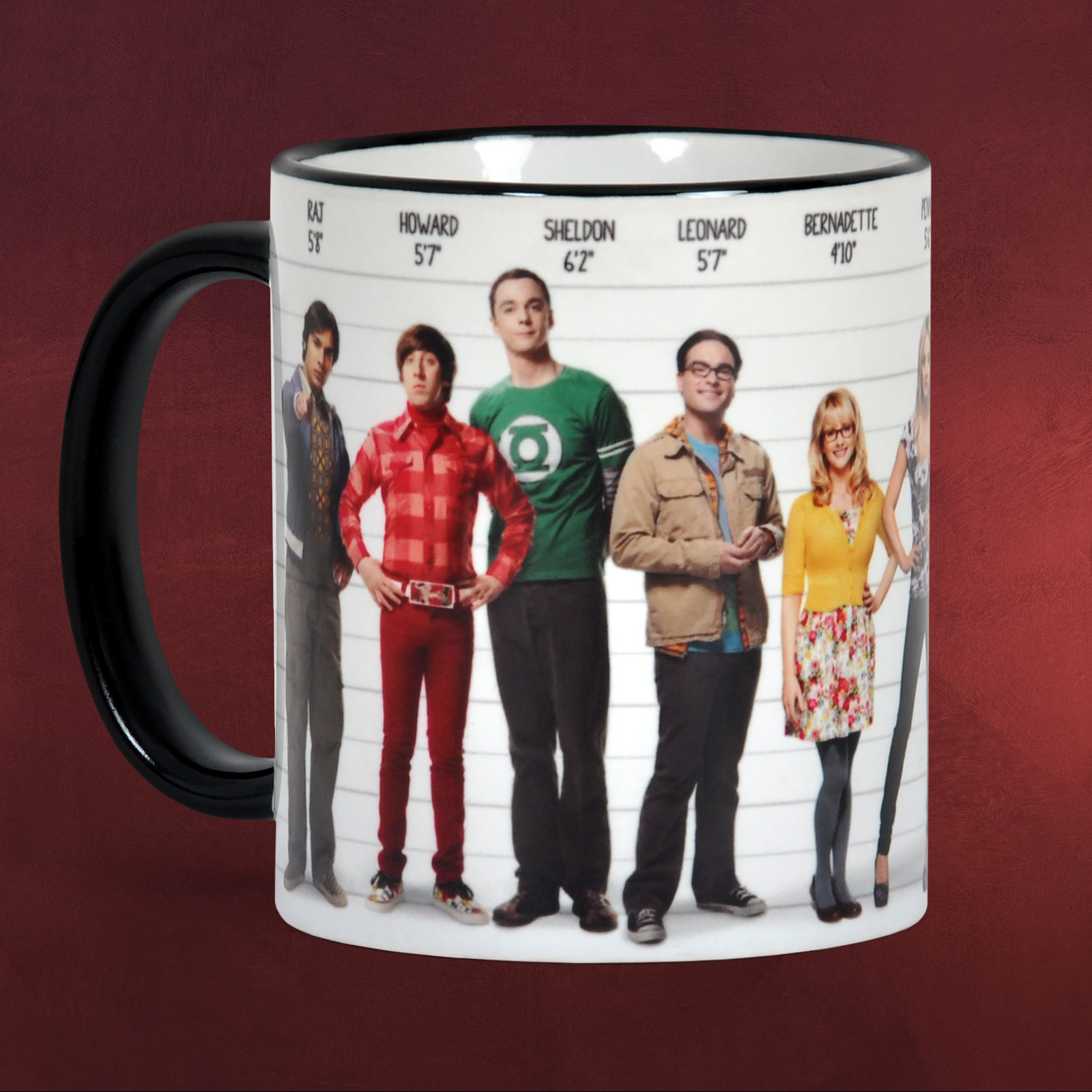 Big Bang Theory Bettwäsche Big Bang Theory All Star Tasse The Big Bang Theory