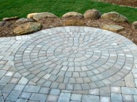 patio pavers circle kit - 28 images - paver patio with ...