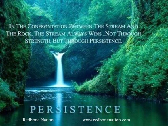 strength in persistence