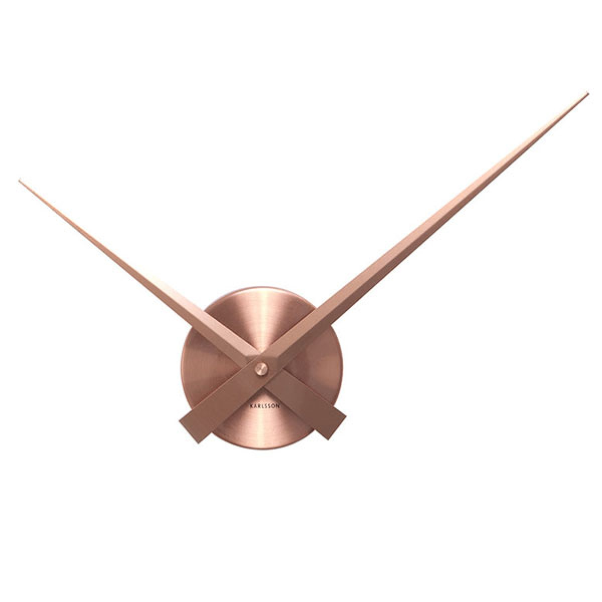 Nextime Koper Karlsson Little Big Time Clock Mini Copper