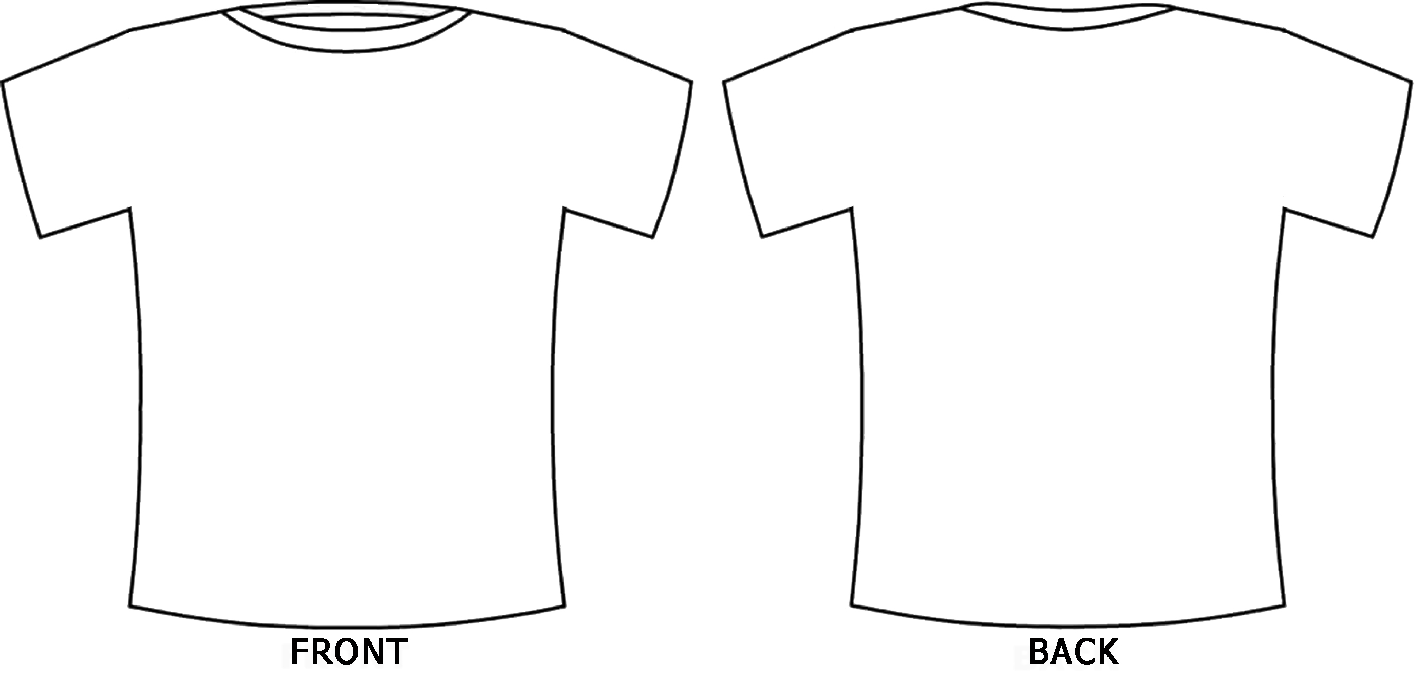 Design T Shirt Template