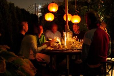 Dining Under Red Lanterns