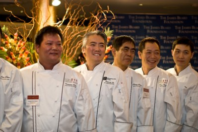 Chefs at Press Preview