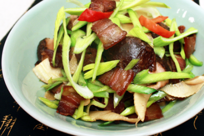 Double Winter Stir-Fried Five-Spice Bacon
