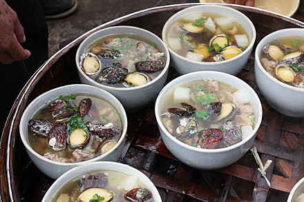 Abalone and Daikon Soup