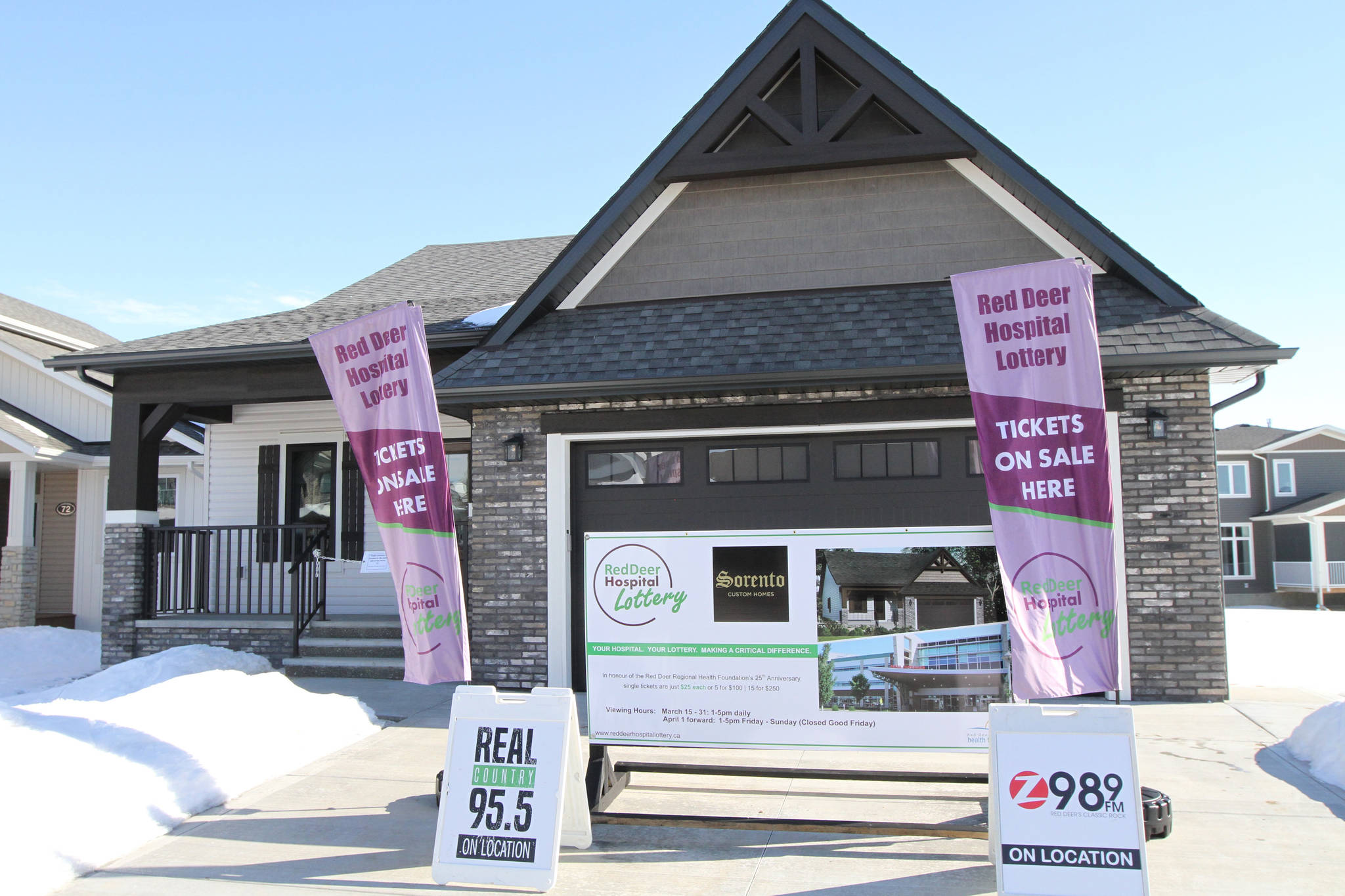 Used Kitchen Cabinets Red Deer Watch Red Deer Hospital Lottery Launched Grand Prize An 840k