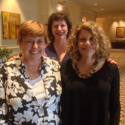 Teresa O'Connor, Robin Horton and I on break at the conference.