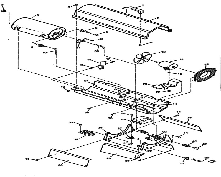 ready heater replacement parts motor repalcement parts and diagram