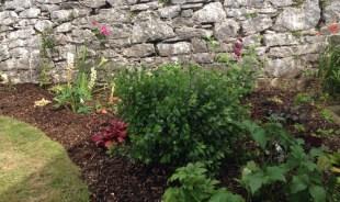 walled garden planting