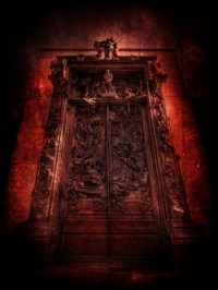 Auguste Rodin's Gates of Hell Sculpture