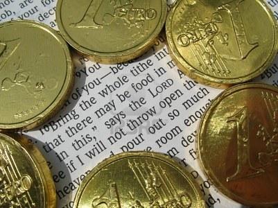 Malachi 3:8-10 - Bring the whole tithe