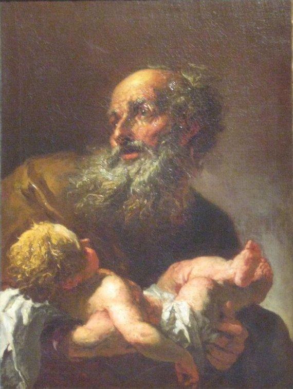 Luke 2 Jesus and Simeon