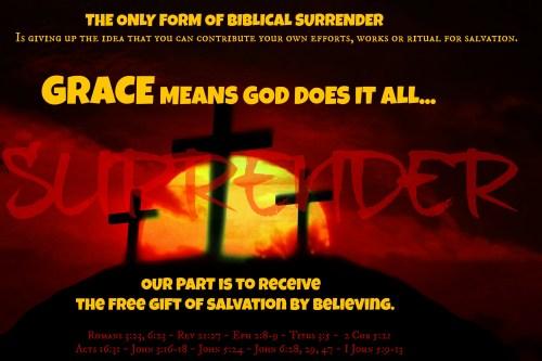 Medium Of Salvation Bible Verses