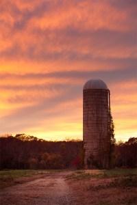 Silo Sunset 2  Baileys Corner Road, Wall Township, New ...