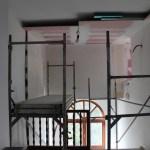 Plafond coupe-feu escalier 2e étage