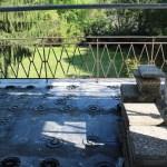 Nettoyage du dallage en pierre du balcon
