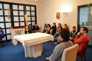 Deux séminaristes donnent leur expérience aux jeunes de Dijon