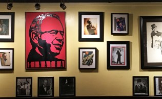Inside the Sinatra Room, blessed by Ole Blue Eyes himself. (Photo by Staci Joy Gee)
