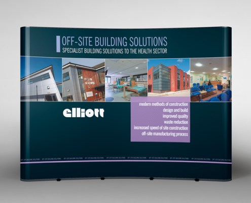 Pop-up exhibition stand design