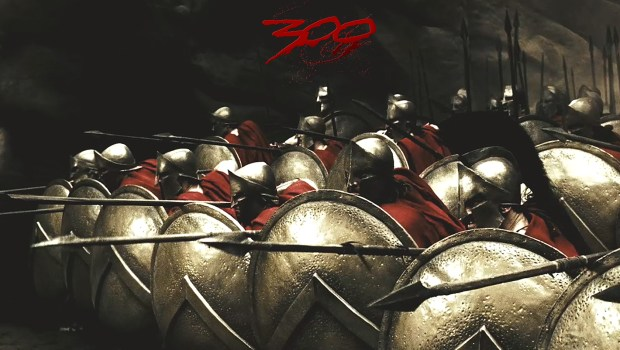 300SpartanSoldiersInPhalanxFormation
