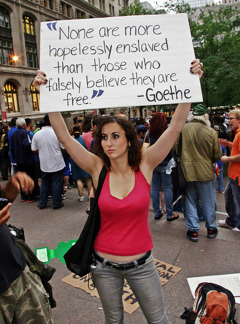 Why are they lying about Occupy Wall Street - and why are they getting away with it?
