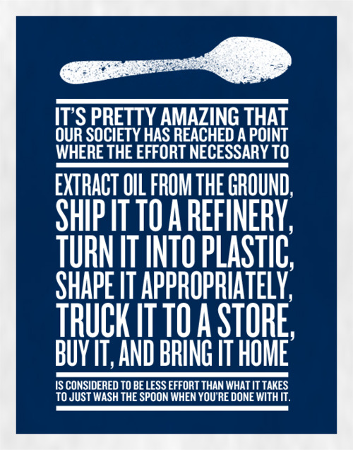 Poster of the week: Wash the damn spoon