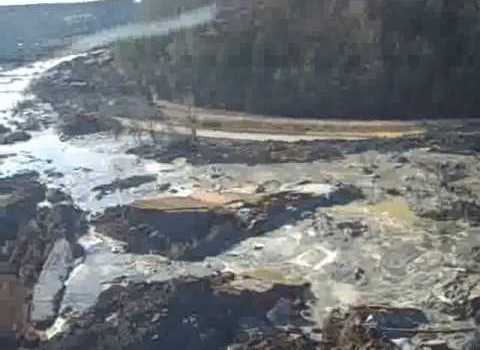 Tennessee Coal Slurry Retention Pond Disaster [video]