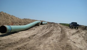 """Pipes for keystone pipeline in 2009"" by shannonpatrick17 from Swanton, Nebraska, U.S.A. - keystone pipeline. Licensed under CC BY 2.0 via Wikimedia Commons - http://commons.wikimedia.org/wiki/File:Pipes_for_keystone_pipeline_in_2009.jpg#mediaviewer/File:Pipes_for_keystone_pipeline_in_2009.jpg"