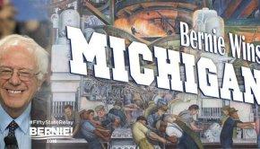Sanders wins michigan primary in spectacular upset