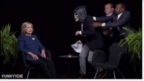 Watch Hillary Clinton show her fun side on 'Between Two Ferns with Zach Galifianakis'