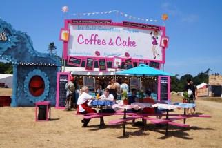 Nasza kawiarnia, na tym festiwalu były nawet stoliki!