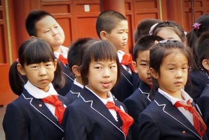 Uchwycone ;) Dzieci podczas szkolnej gali