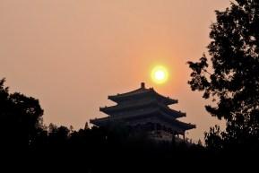 Na terenie Parku Jingshan znajduje się kilka pawilonów należących do kompleksu Zakazanego Miasta