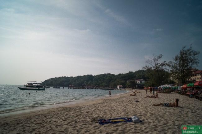 Plaża w Sihanoukville