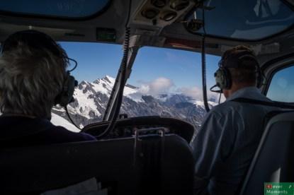 Zbliżamy się do szczytu Mt Cook