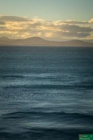 Zachód słońca na Otago Peninsula