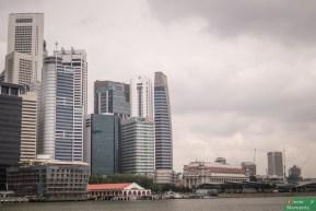 Panorama biznesowej części miasta