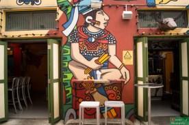 Haji Lane, najbardziej hipsterska uliczka Singapuru