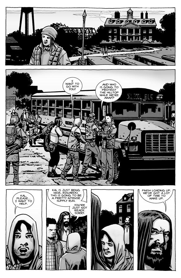 Previews Walking Dead #111, A Distant Soil #40, Aphrodite IX #2