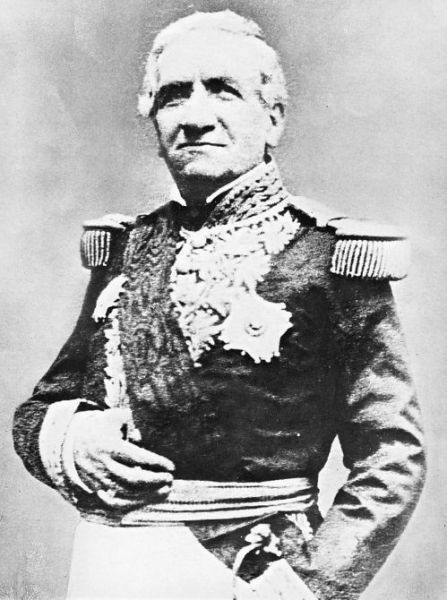 Andrés de Santa Cruz. Crédito: Archivo Courret