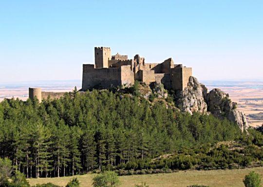 castillo loarre huesca frontal