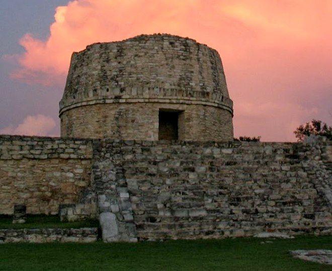 templo redondo maya