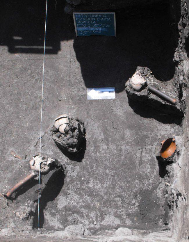 yacimiento azteca ciudad de mexico