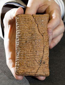 tablilla babilonica arca noe redonda